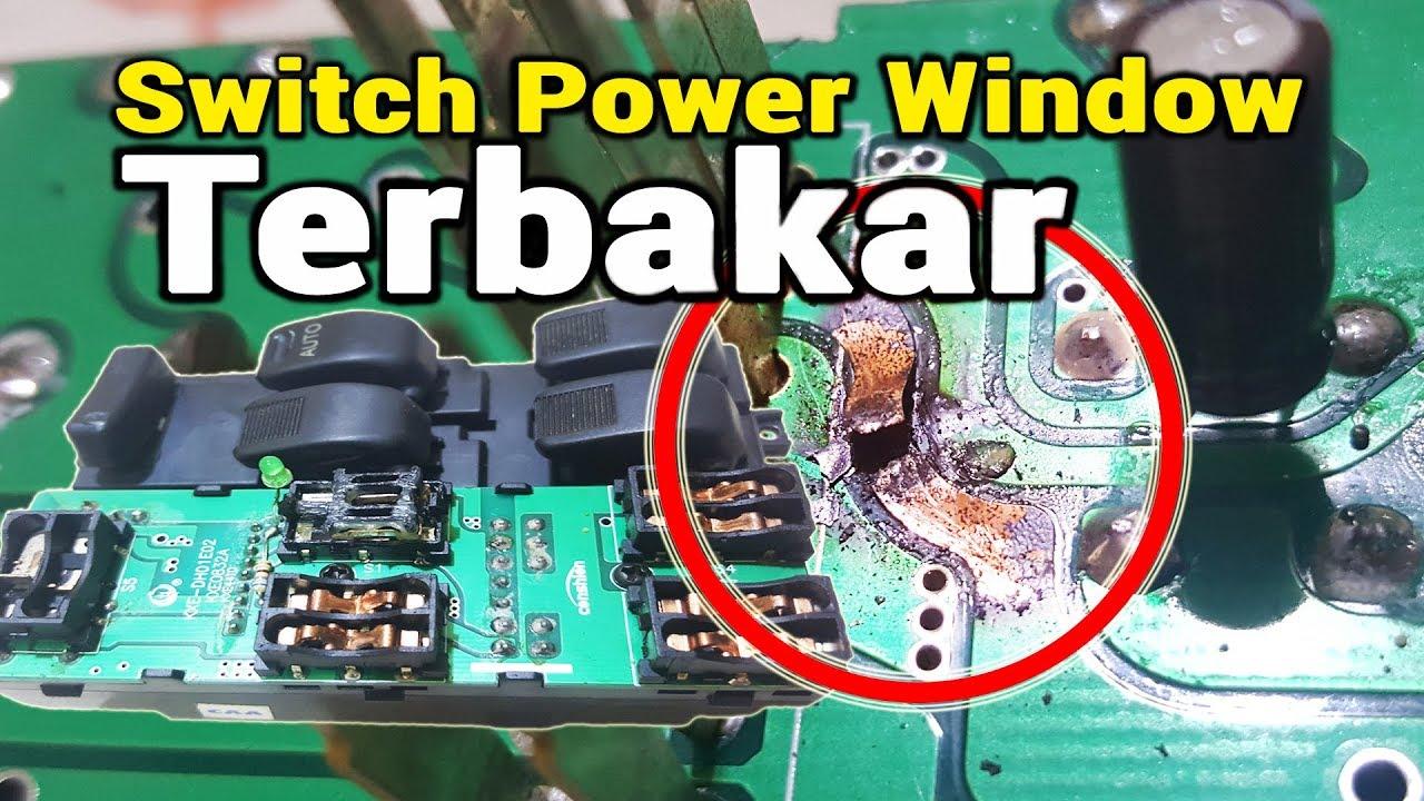 Cara Membongkar Memperbaiki Master Switch Power Window Avanza Xenia Yang Rusak