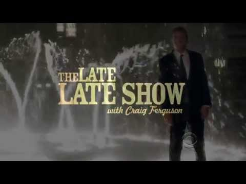 Late Late Show with Craig Ferguson 5/20/2010 Holly Hunter, The Hold Steady