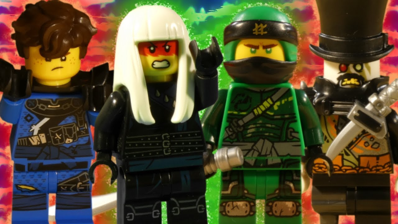 LEGO NINJAGO HUNTED PART 2 - COMING TOMORROW - RESCUE FROM THE DRAGON PIT
