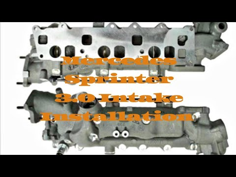 Sprinter 3.0 intake installation With removal instructions, Key information for being successful!!!!