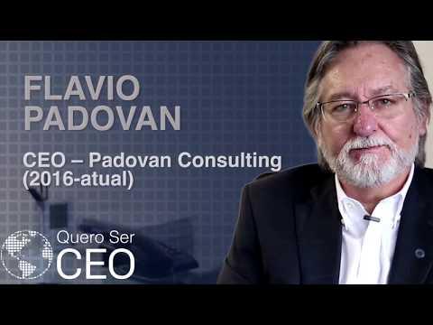 Quero Ser CEO - Depoimento Flavio Padovan - CEO Padovan Consulting