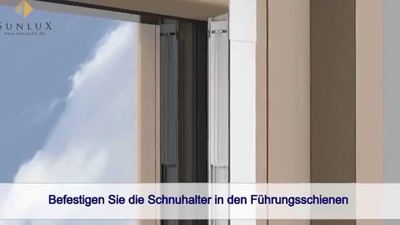 Animation] Plissee Cosiflor DF Comfort 20 - YouTube