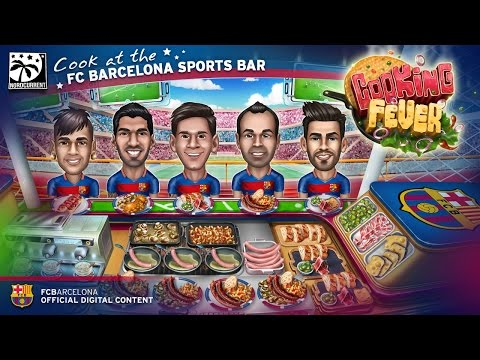 FC Barcelona Sports Bar opens in Cooking Fever