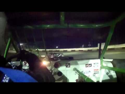 6.20.15---Peoria Speedway----Street Stock Feature---In car