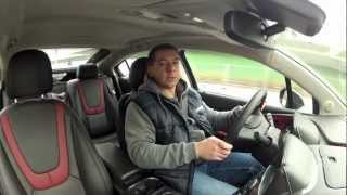 (ENG) Opel Vauxhall Ampera - test drive and review - Part 1