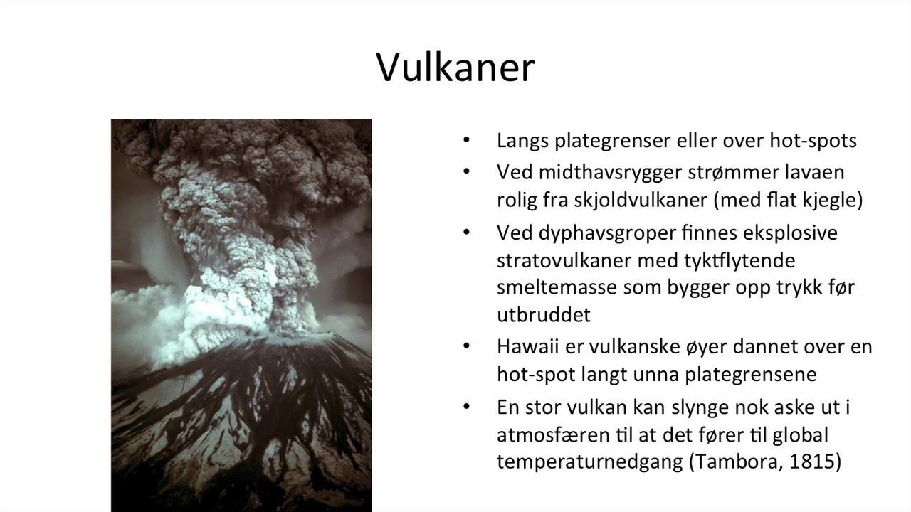 Geografi - Naturkatastrofer