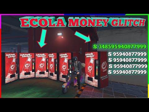 Gta 5 Ecola Money Glitch  ( Unlimited Money In Few Minutes )