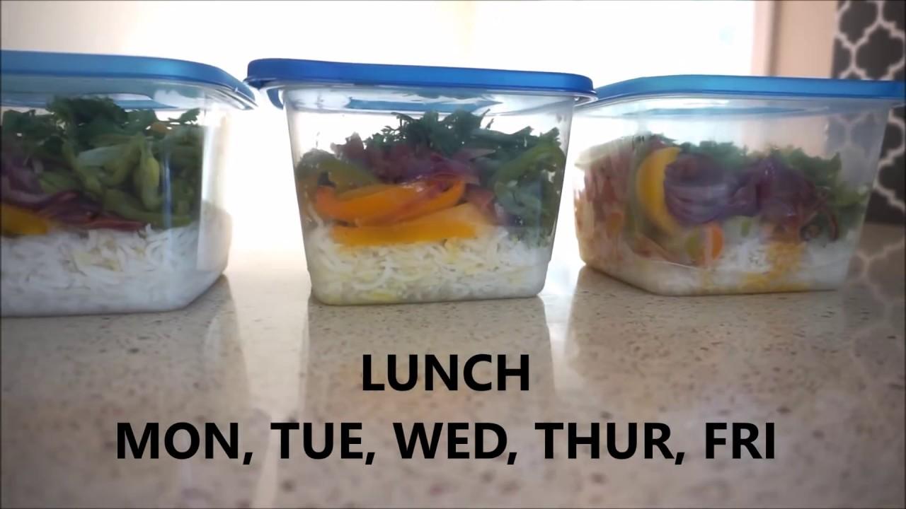 खाओ यह 44 किलोग्राम कम करने के लिए | 5 DAY LUNCH DIET PLAN