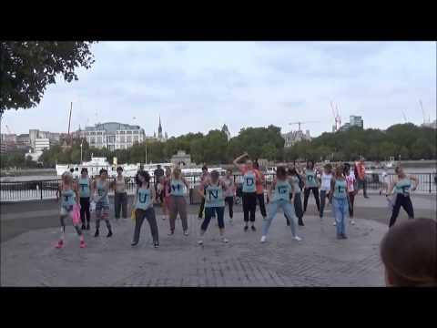 The Jungle Body Flashmob - London, Southbank
