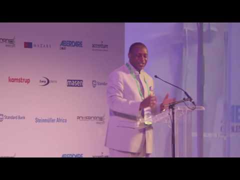 Dr. Kandeh K. Yumkella Lifetime Achievement Award at African Utility Week 2016