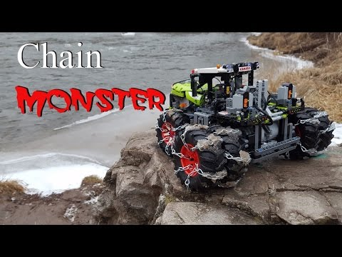 Chain Monster Lego Technic 42054 Claas Xerion 5000 Trac VC