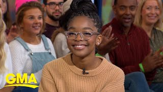 Marsai Martin Talks Her Rise To Fame L Gma