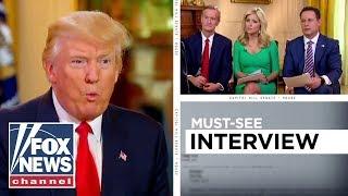 President Trump joins Fox & Friends