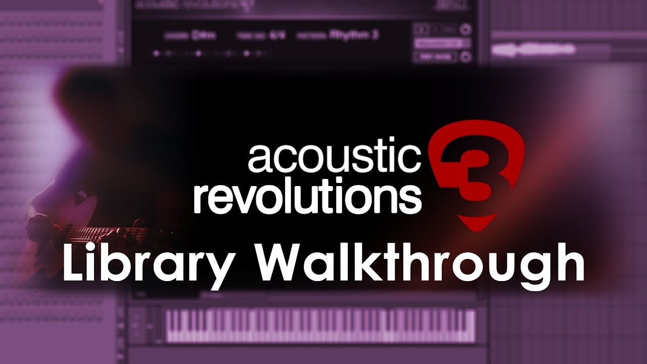 Acoustic Revolutions 3 (VST, AU, AAX) Kontakt Acoustic