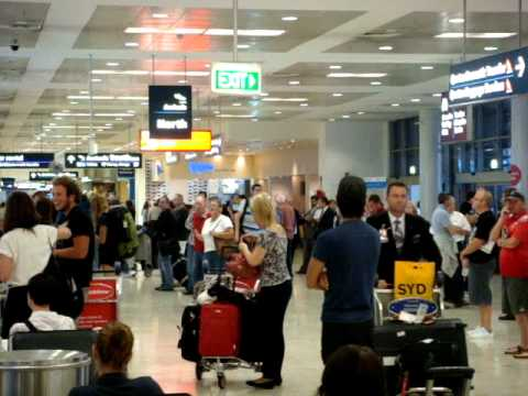 Sydney Airport International Arrivals #trafalgarinsider #travelgroupie MOV09195 .MPG