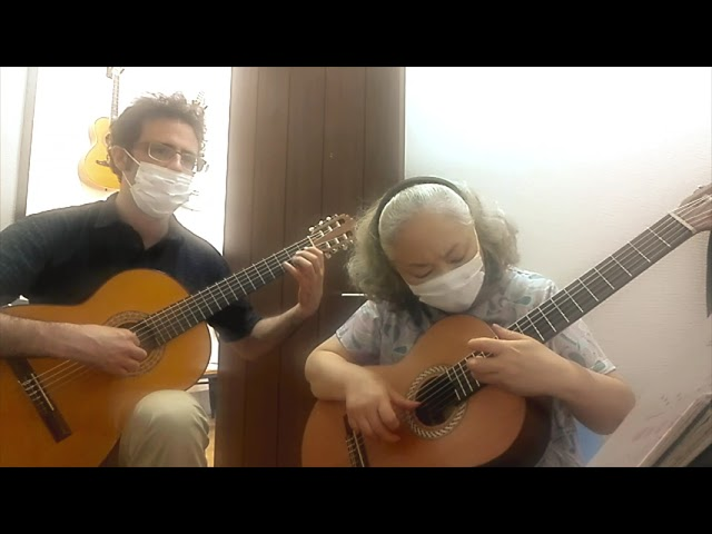 "Fusako plays ""Ai no Katachi"" (Shape of Love)"
