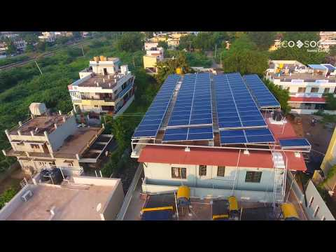 Apartment Complex with On-Grid Solar Rooftop System