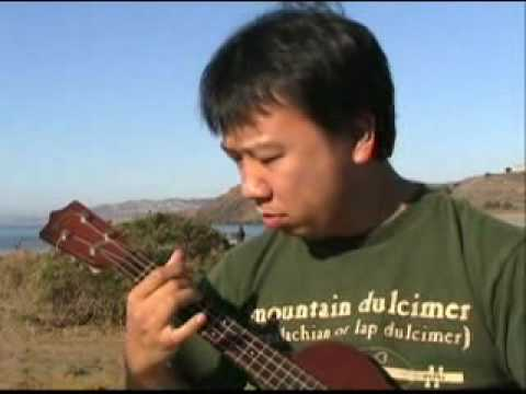 Wayne plays Train 45 on ukulele