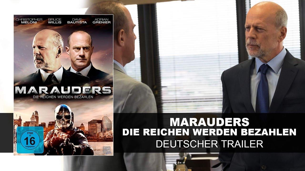 Marauders - Die Reichen werden bezahlen (Deutscher Trailer) | Bruce Willis| HD | KSM