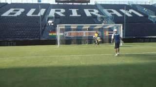 army united f.c aquecimento de jogo contra buriran 1x1 fora casa goalkeepercoach salomao