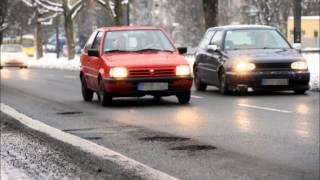 Дороги в германии после НАСТОЯЩЕЙ зимы