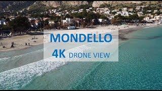 MONDELLO DRONE VIEW - 4K - SICILY - PALERMO