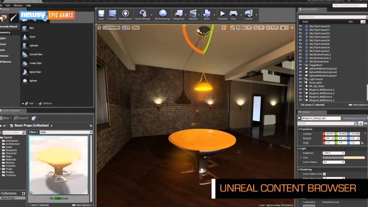 Epic's Unreal Engine 4 Now Free To Download