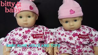 FROM BITTY BABY CHANNEL After and Before  BITTY BABY HOSPITAL VISIT and HOW TO send Doll to Hospital