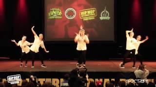 Feel It Jr | 4º Lugar Divisão Varsity @ Hip Hop International Portugal 2015 | Finais
