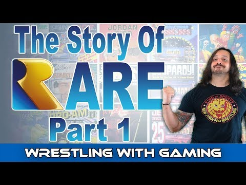The Story Of Video Game Developer Rare - Part 1 The NES & ZX Spectrum Years