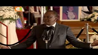 Kenyatta, Odinga wakaa kwenye jukwaa moja Kiambu