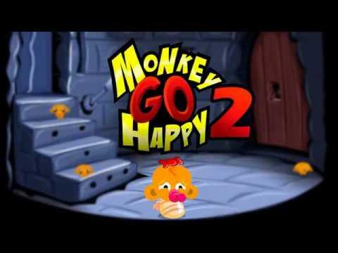 """Игра """"Счастливая Обезьянка 2"""" (Monkey GO Happy 2) - прохождение"""
