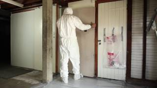 Working safely with asbestos.