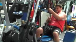BIG AL  BACK  @  Team LP Fitness Playground 6-18-09