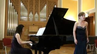 """Soprano Olena Tokar, Schoenberg """"Erwartung"""" Op.2"""
