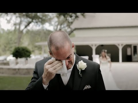This Father Of The Bride's Reaction Will Have You Sobbing | Maggie Sottero Designs | Ricker Films