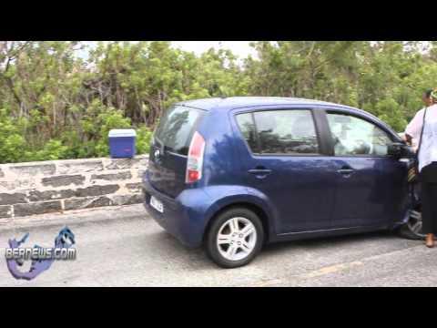 Car Accident St. David's Bermuda May 21 2011