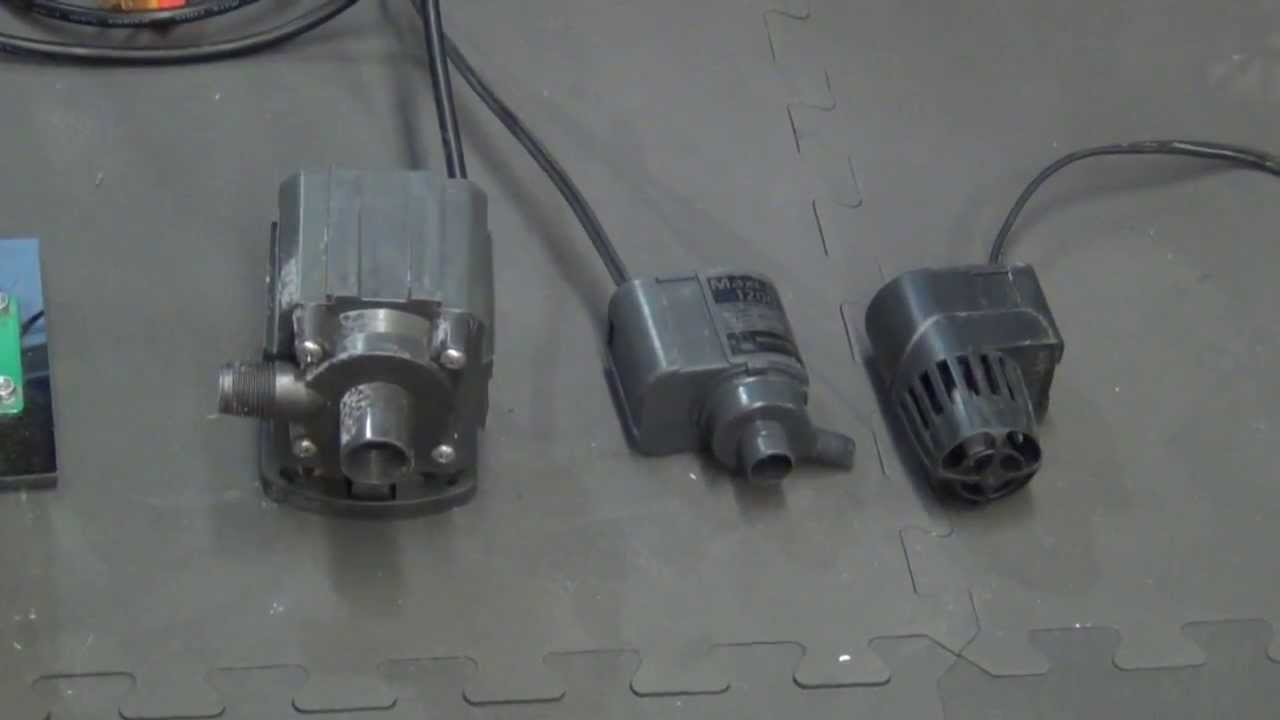 Internal vs External Water Pumps - YouTube
