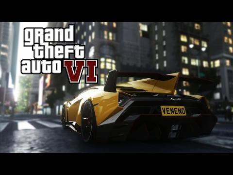 GTA 6: Grand Theft Auto VI - Official Gameplay Trailer - Rockstar Games (2017)