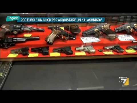 200 euro e un click per acquistare un Kalashnikov