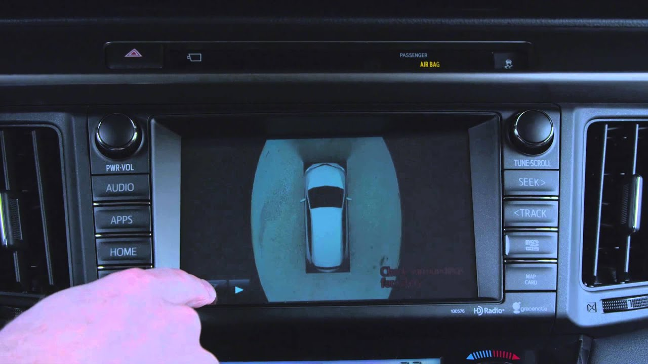 2016 Toyota Rav4 Hybrid Birds Eye View Camera