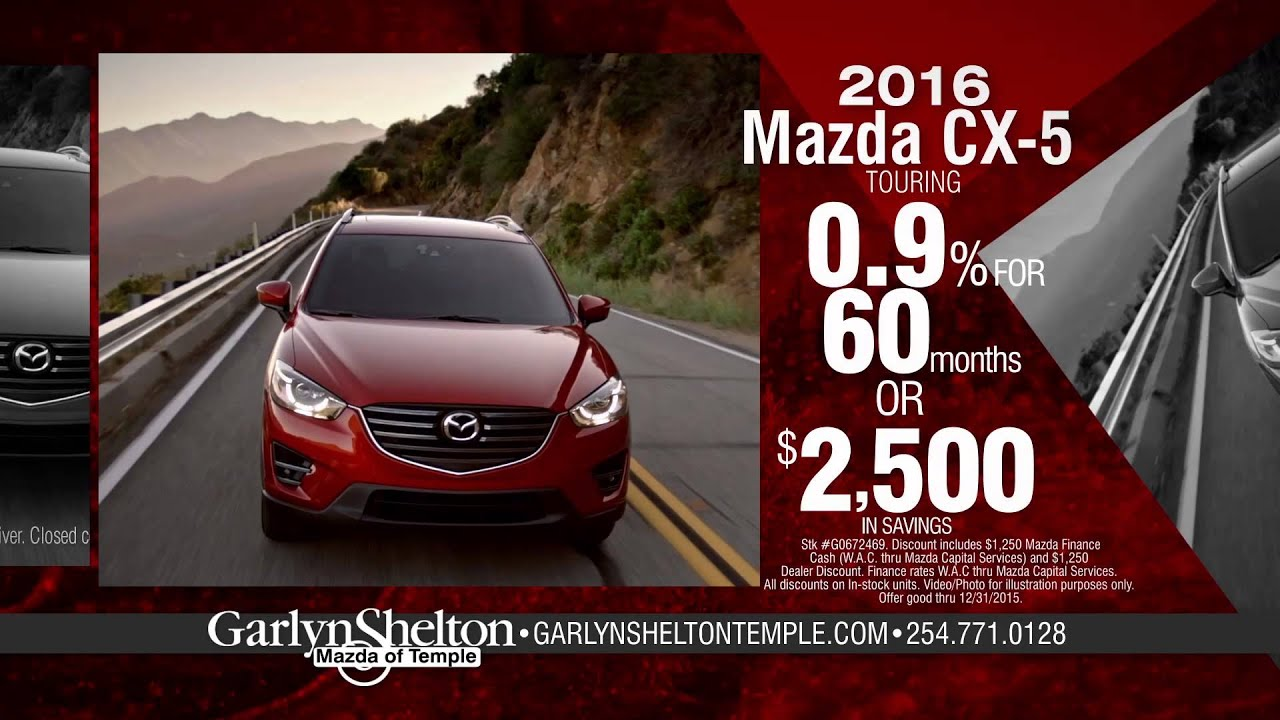 Garlyn Shelton Mazda of Temple #2 - December 2015 - YouTube