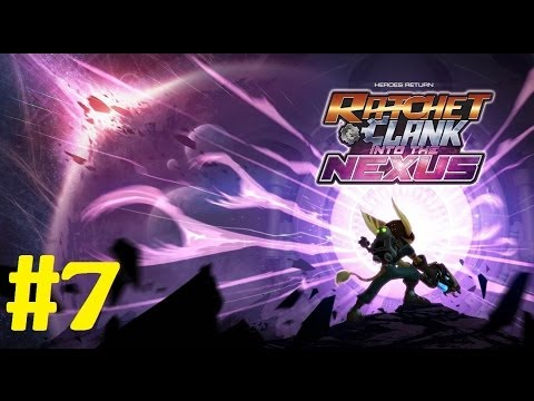 Ratchet and Clank into the Nexus Walkthrough Part 7 no commentary Gameplay