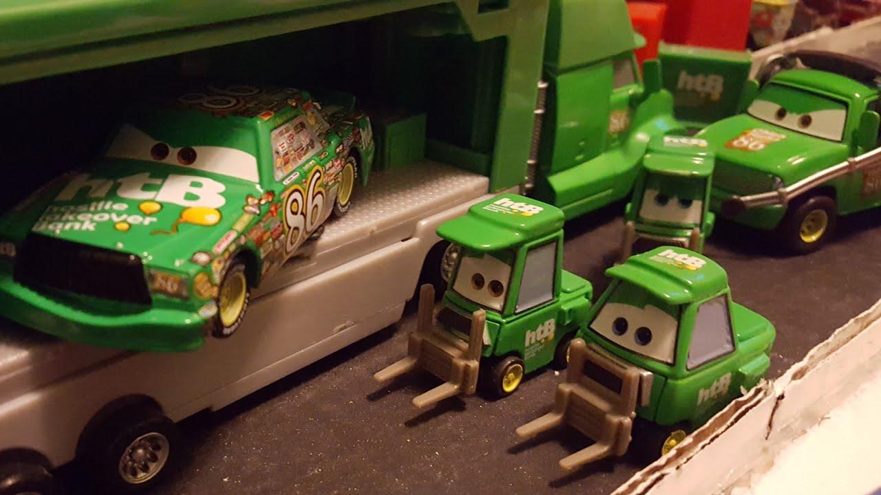 Download Disney Pixar Cars Hostile Takeover Bank (Chick Hicks/#86) Team Review