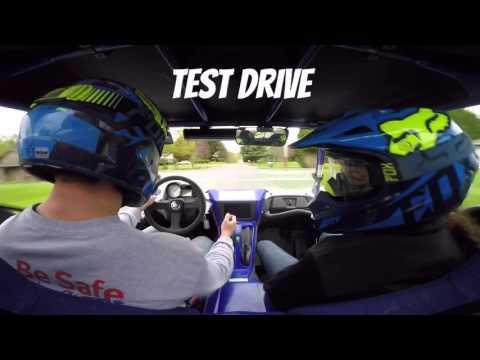 YXZ1000R Stock Exhaust vs Weller Racing Exhaust with Test Drive