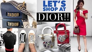 SHOP WITH ME AT DIOR!  🛍 SHOPPING VLOG + COME TO A DIOR EVENT WITH ME!