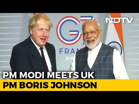 Days After Phone Conversation, PM Modi, Boris Johnson Meet In France
