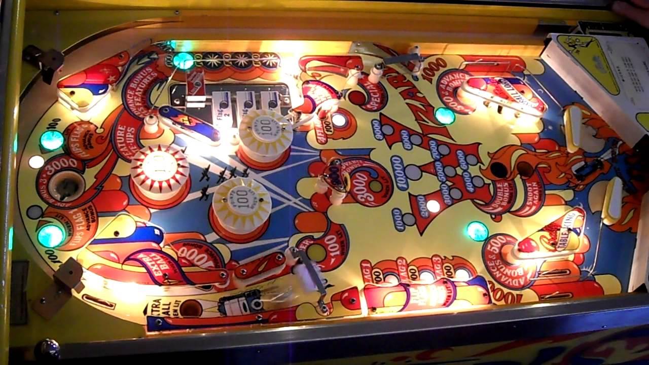 valtava myynti poistomyynti jaloilla Bally Wizard Pinball Machine HD