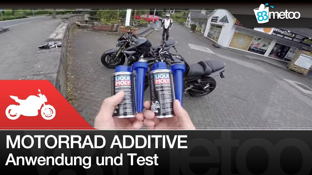 motorrad benzin additive test liqui moly speed additive. Black Bedroom Furniture Sets. Home Design Ideas