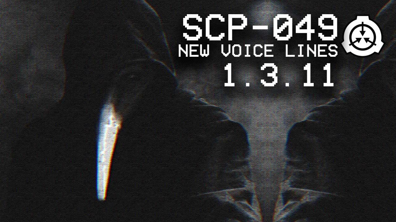 SCP-049 New lines (Original Voice actor) | SCP CB v1 3 11 Update